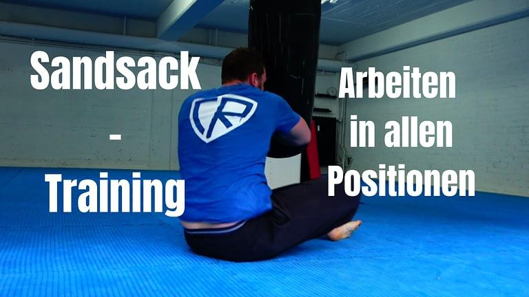 Sandsack – Training: Positionierung