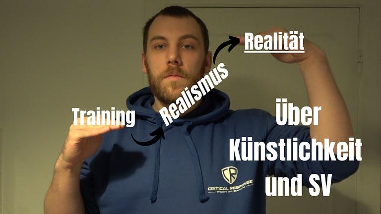 Künstlichkeit und Realismus im Training