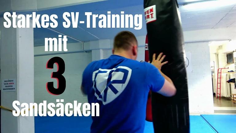 Sandsack-Training: Mehrere Gegner