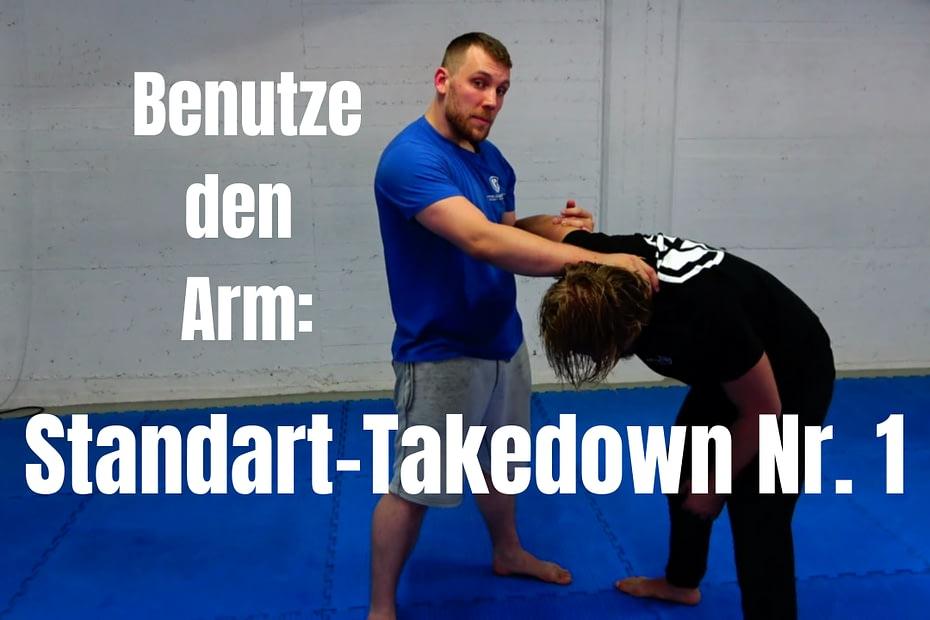 Arm-Takedown - Eine Standardanwendung für die Selbstverteidigung