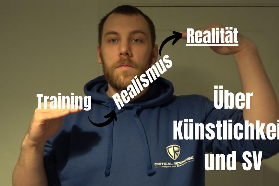 Über den Unterschied zwischen Realität und Realismus im Selbstverteidigungstraining